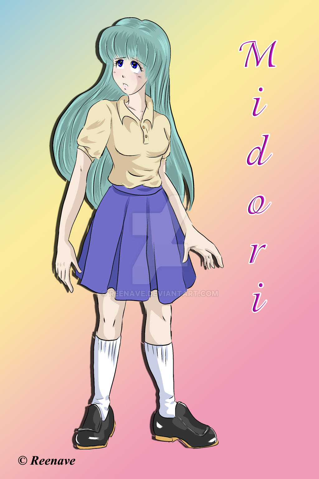 Midori Information Sheet by Reenave
