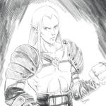 Sketch - Young Kain by Reenave