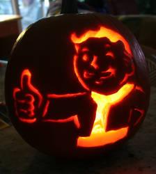 PipBoy Pumpkin Fallout