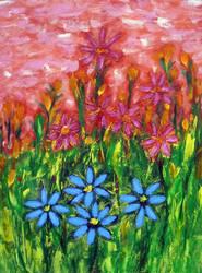 Spring garden by kierando