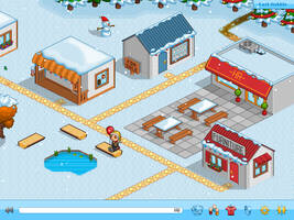Pixel Winter Wonderland by dasaii
