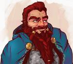 Dwarf portrait - commission