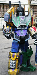 Bruticus:Fall of cybertron Cosplay