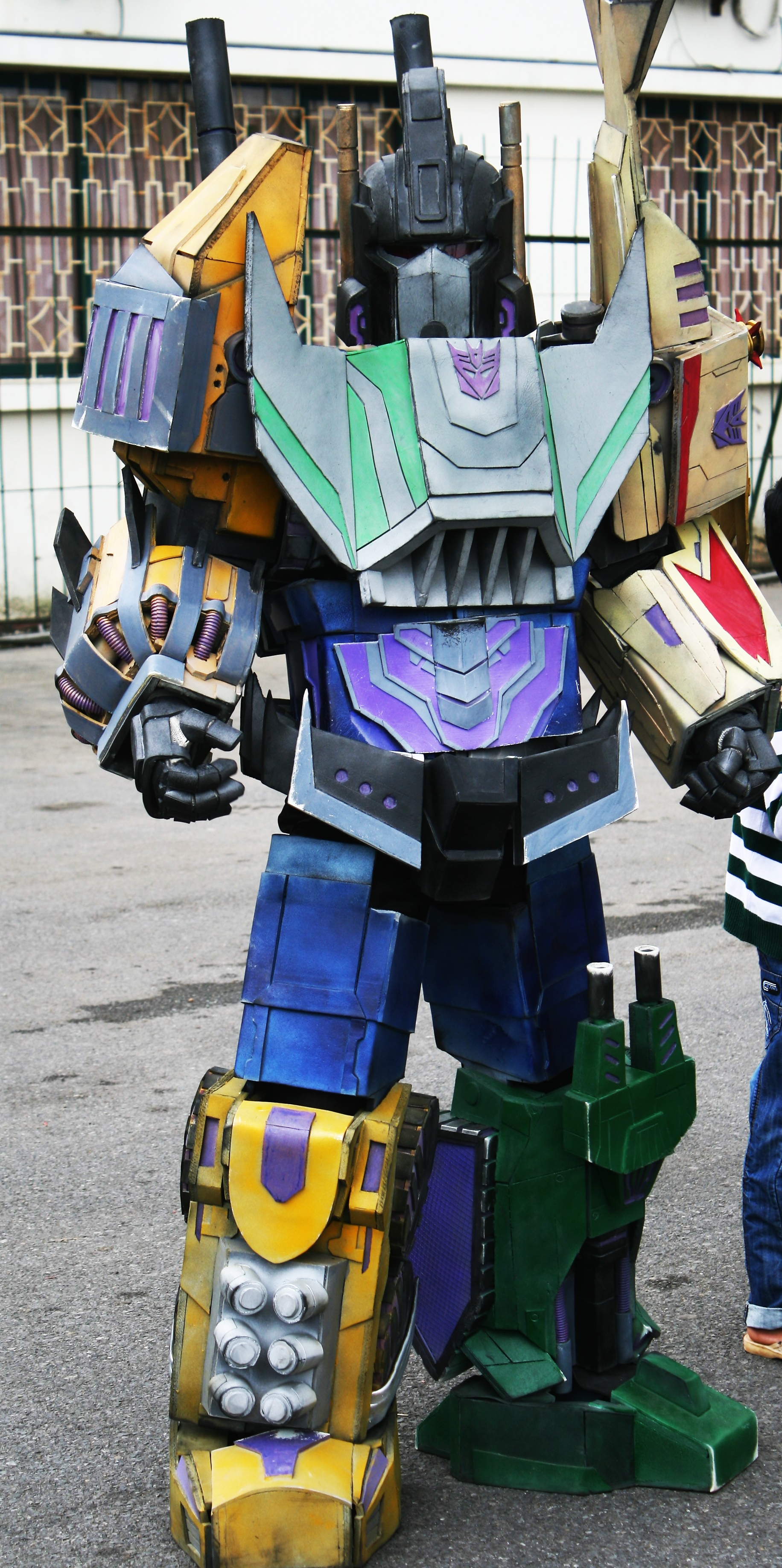 bruticusfall of cybertron cosplay by boyssuihp on deviantart