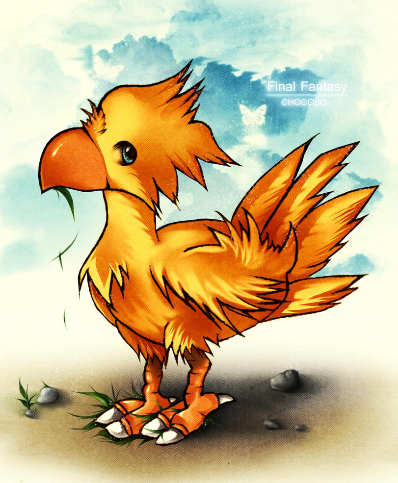 Chocobo by AikaXx