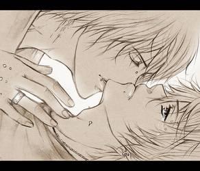 the last kiss by AikaXx