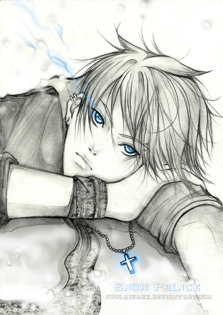 Snow Prince - sketch by AikaXx