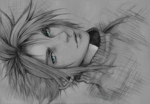 Cloud Strife Sketch