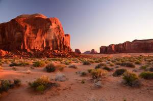Monument Valley by abhenna