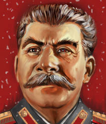 Stalin by Ibbbon