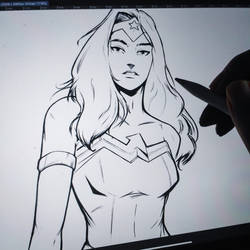 Wonder Woman 1994 - In little preview of my setup
