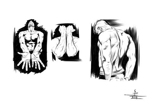Old Morning Poses