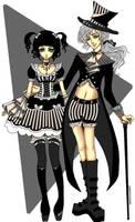 Elegant Gothic Couple