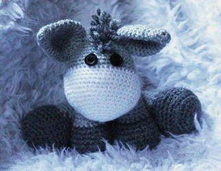 Crochet donkey by 237743936