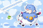 Meow Wow and Spheal