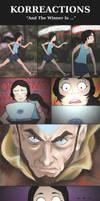 Korra Reactions: Aang