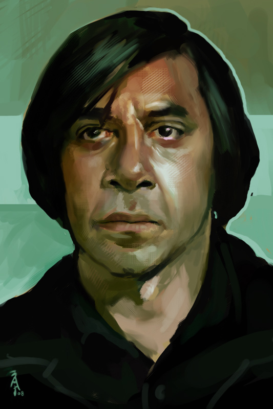 anton chigurh Anton chigurh is the main antagonist of cormac mccarthy's novel no country for old men, and its film adaptation, in which he is portrayed by javier bardem the character received much praise during the film's theatrical run, where javier bardem was awarded an oscar, a golden globe and a bafta for his performance.
