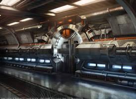 XCOM Alpha Doorway Concept by zombat