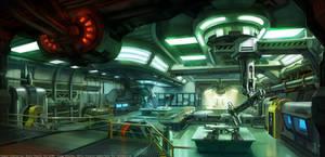 XCOM Sci-Lab by zombat