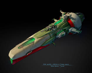 Star Swarm  - Carrier B concept by zombat