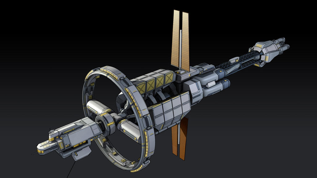 Image result for colony ship concept art