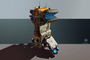 Post-Human Coalition Engineer by zombat