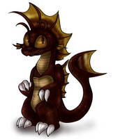 Chibi Titanosaurus by PlagueDogs123