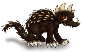 Chibi Anguirus by PlagueDogs123