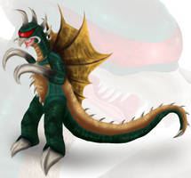 . Gigan . by PlagueDogs123