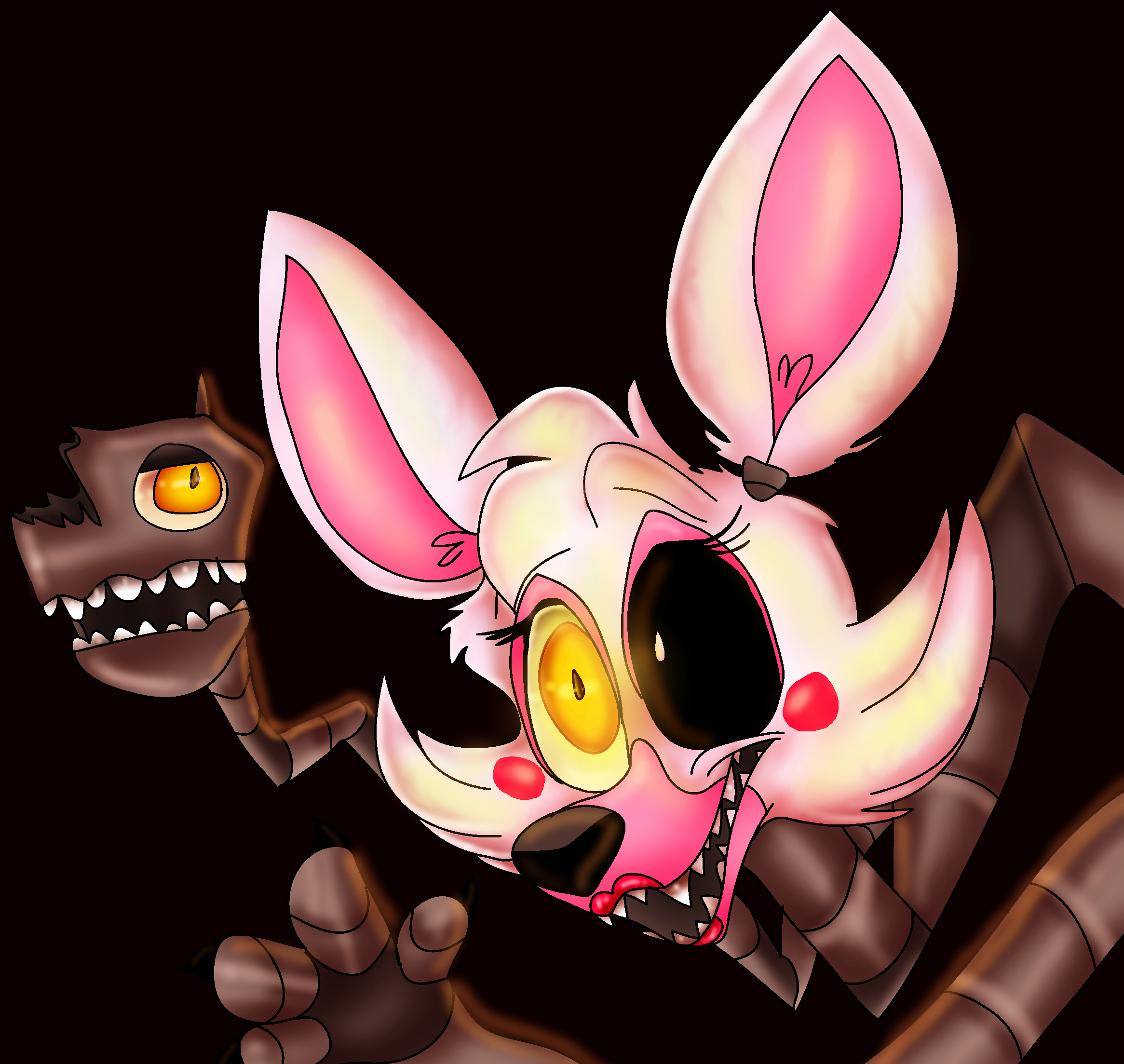 Mangle By PlagueDogs123 On DeviantArt