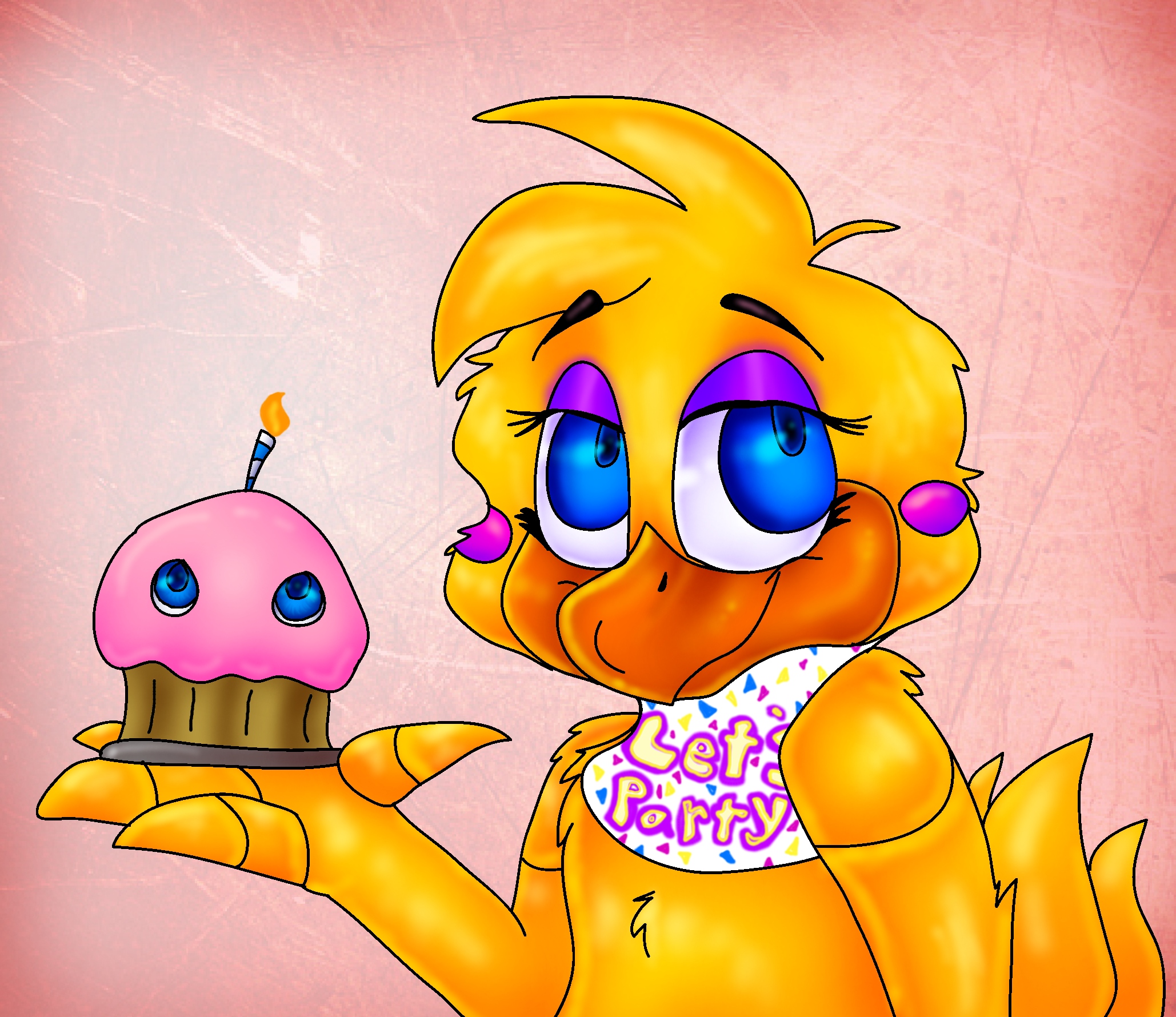 Chica Toy Chica Favourites By Goldenafro On Deviantart: Chica The Chicken- Fan Art Favourites By Freindly-Fazbear