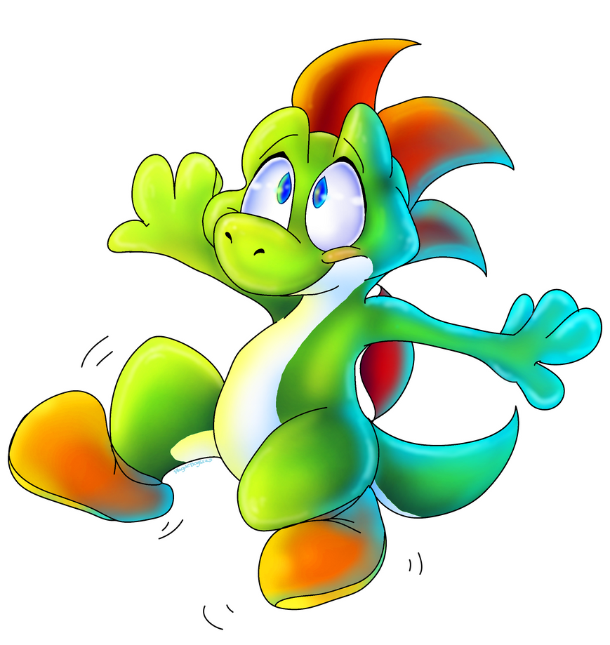 Yoshi by PlagueDogs123