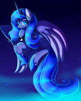Young Princess Luna by PlagueDogs123