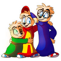 Alvin and the Chipmunks by PlagueDogs123