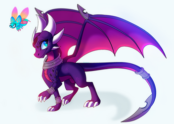 Reignited Cynder by PlagueDogs123