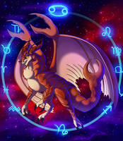 Zodiac Dragons - Cancer