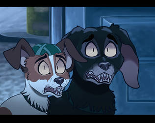 Plague Dogs - Screenshot Redraw