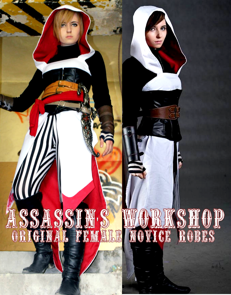 Assassin S Creed Original Design 1 Novice Robes By Assassins