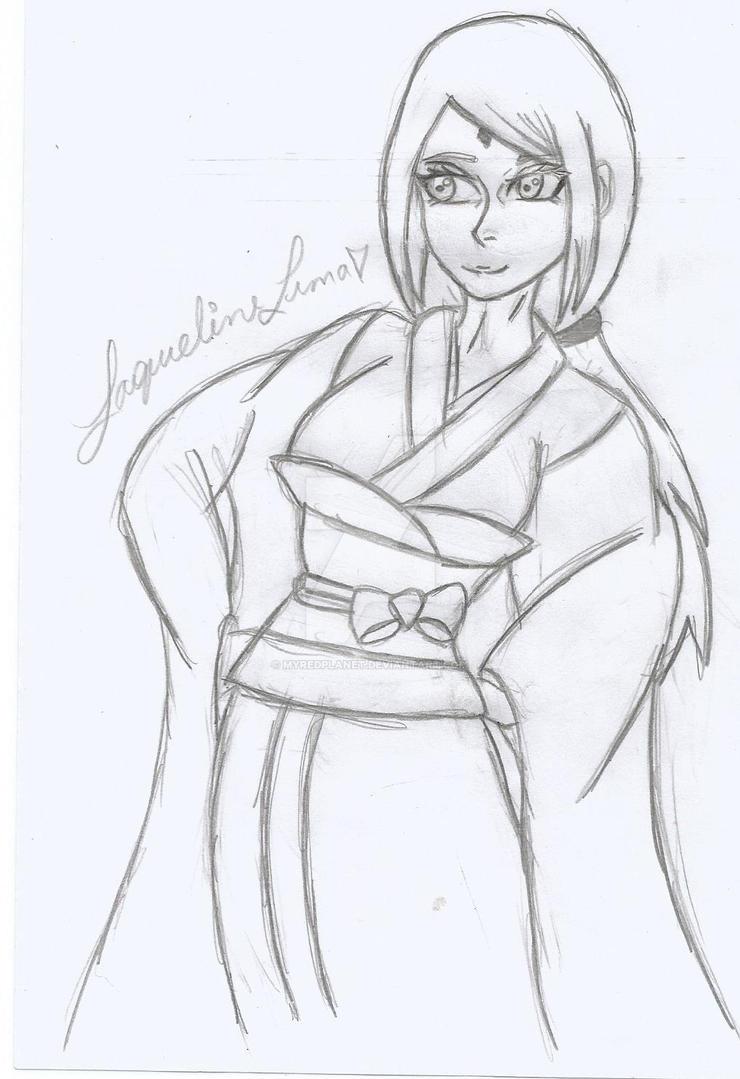 Uchiha Sakura. by myredplanet