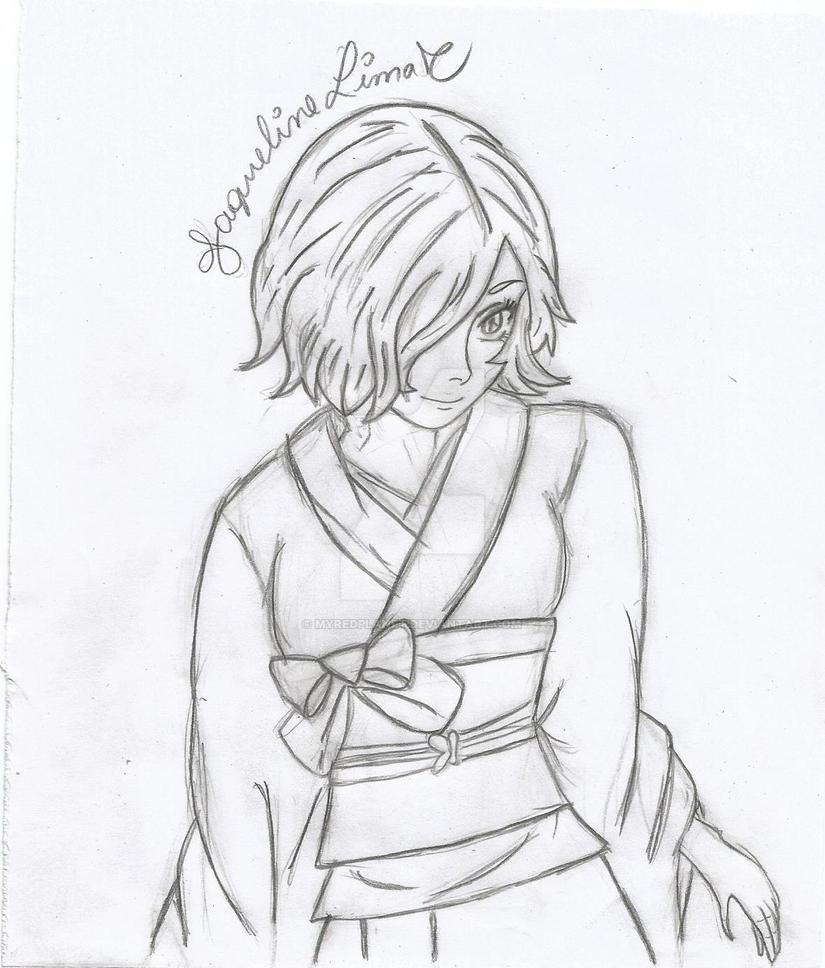 Kirishima Touka by myredplanet