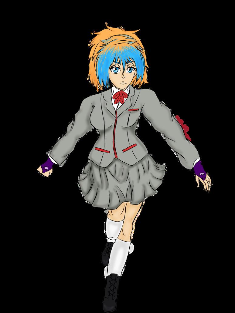 (Commission) Kurosaki Asuka by myredplanet