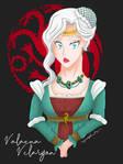 Lady Valaena Velaryon by myredplanet
