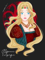Good Queen, Alysanne Targaryen by myredplanet