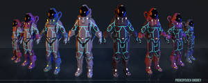 Space Suit | Charecter concept | Maya