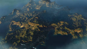 Island in the Ocean | Terrain concept art
