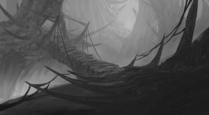 Dangerous Way | Environment Concept Art