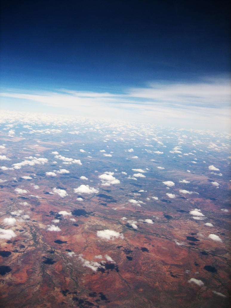over the outback by nephelae