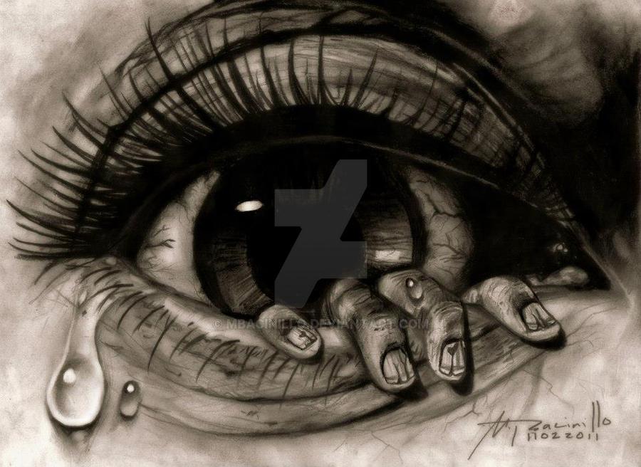 sad eyes with tears drawing 26789 interiordesign