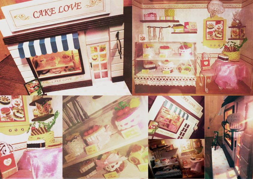 Cake Love - DIY by curionenene