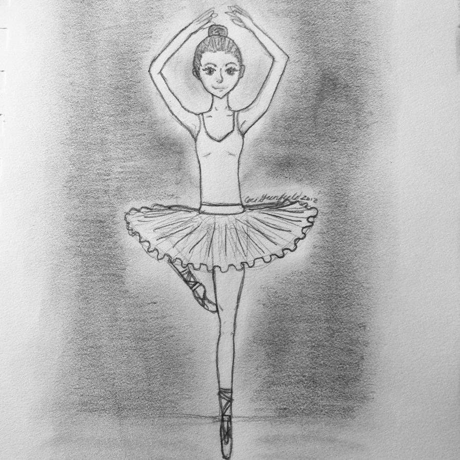 Uncategorized Ballerina Drawings simple ballerina by winterosee on deviantart winterosee